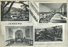 """2189 """" SANREMO - ISTITUTO MARSAGLIA """" CART. ORIG.  NON SPED. - San Remo"""