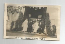 Photographie 60 Oise Sommereux La Noce  1924  Photo   Collée Sur Papier 7x11 Cm Env - Places