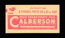 FRANCE CARNET N° 1263-C1 Decaris (II) Série 04-62. Carnet De 8 Timbres. Neuf **. Pub Calberson. Cote Yvert 50 €. TTB - Carnets