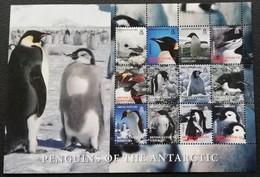 British Antarctic Territory 2006 Penguins  Scott $29 - Stamps