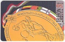 HUNGARY E-562 Chip Matav - Event, Sport, Olympic Games - Used - Hungary