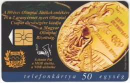 HUNGARY E-586 Chip Matav - Event, Sport, Olympic Games - Used - Hungary