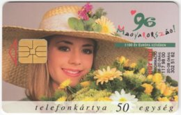 HUNGARY E-587 Chip Matav - Plant, Flower - Used - Hungary
