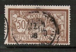 FRANCE   Scott # 123 F-VF USED (Stamp Scan # 441) - France