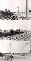 LA GRAVE D' AMBARES - 3 Photos - Fin De L' Electrification Du Raccordement   -  Photo - Photo Pierre Gontier (111057) - Frankreich