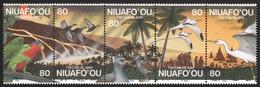 Niuafo'ou-Insel 1994 - Mi-Nr. 269-273 ** - MNH - Fauna & Flora - Timbres