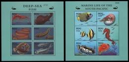 Palau 2000 - Mi-Nr. 1717-1728 ** - MNH - Meerestiere / Marine Life - Sonstige - Ozeanien