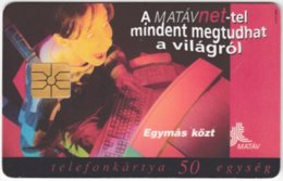HUNGARY E-605 Chip Matav - Used - Hungary