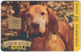 HUNGARY E-607 Chip Matav - Animal, Dog - Used - Hungary