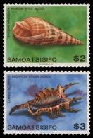 Samoa 1979 - Mi-Nr. 413-414 ** - MNH - Meeresschnecken / Marine Snails - Samoa