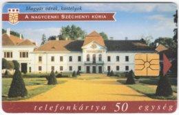HUNGARY E-610 Chip Matav - Culture, Castle - Used - Hungary