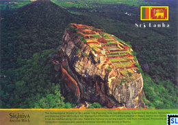 Sri Lanka Postcards, Sigiriya, UNESCO, Postcrossing - Sri Lanka (Ceylon)