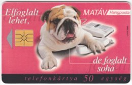 HUNGARY E-618 Chip Matav - Animal, Dog - Used - Hungary