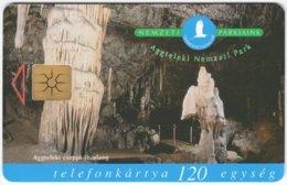 HUNGARY E-620 Chip Matav - Landscape, Cave / Animal, Fire Salamander - Used - Hungary