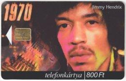 HUNGARY E-645 Chip Matav - Musician, Jimi Hendrix - Used - Hungary