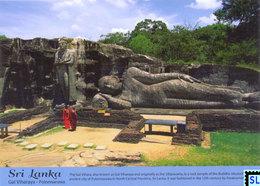 Sri Lanka Postcards, Galviharaya, Polonnaruwa, UNESCO, Postcrossing - Sri Lanka (Ceylon)