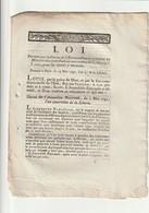 Loi Portant Que La Caisse De L'extraordinaire Remettra Une Somme à... - Decrees & Laws