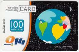 ISRAEL A-742 Prepaid Bezeq - Used - Israel