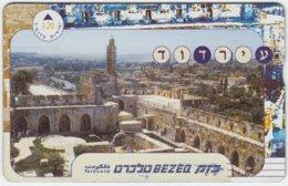ISRAEL A-834 Hologram Bezeq - View, Jerusalem - 006E - Used - Israel