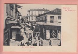 OLD  POSTCARD -  GREECE - SALONIQUE - 1900'S - RUE SABRI PACHA - Greece