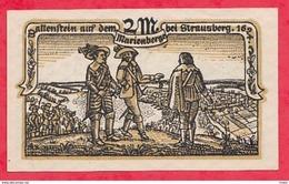 Allemagne 1 Notgeld 2 Mark  Stadt Strausberg état Lot N °3038 - [ 3] 1918-1933 : Repubblica  Di Weimar