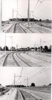 LA GRAVE D' AMBARES - 3 Photos - Phase Finale De L' Electrification - Les Pendules   - Photo Pierre Gontier (111060) - France