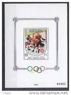 YEMEN SUD Bk18a Olympiques Sarajevo 84 - Hockey Sur Glace - Winter 1984: Sarajevo