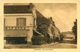 Cpa LOUVIERS 27 Rue De La Gare - Hôtel De La Gare - Louviers