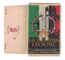 CARTOLINA POSTALE LA DECIMA LEGIONE Serie Completa 12 Cartoline - Publicidad