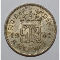 GREAT BRITAIN - 6 PENCE 1942 - TRES TRES BEAU - - Grossbritannien
