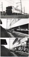 LA GRAVE D' AMBARES - 3 Photos -Train Rapide De Soirée Pour Paris Austerlitz Sur Le Rac  - Photo Pierre Gontier (111061) - Frankreich