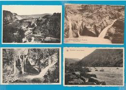 BELGIË Aywalle, Nonceveux, Remouchamps, Lot Van 46 Postkaarten. - Postcards