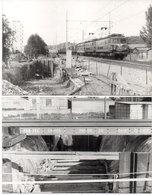Passage A Niveau De LA BERRANGE - 2 Photos - Percement Du Tunnel -   - Photo Pierre Gontier (111062) - Frankreich