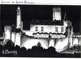 CPM* N°954 - SOUVENIR DU GRAND PRESSIGNY - Le Grand-Pressigny