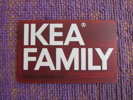 Ikea Family China,2006 - Cartes Cadeaux