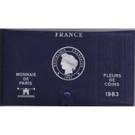 COFFRET FLEUR DE COIN 1983 TRANCHE A - - France
