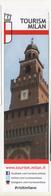 Seg081 Segnalibro Signet Bookmark Marque Pages Turismo Milano Tourism Architettura Castello Sforzesco Castle Chateau - Segnalibri