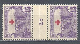 Tunisie: Yvert N° 49*; Croix Rouge; Millésime 5 - Tunisie (1888-1955)