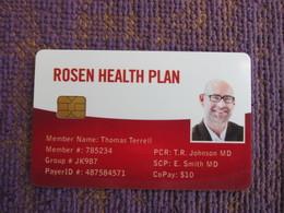 Rosen Health Plan Chip Card - Phonecards