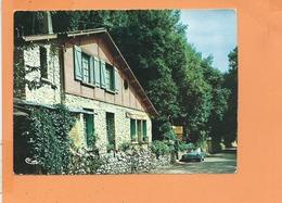 """CPSM Grand Format - BIARD - Le Café Restaurant """" Le Cottage De La Norée """" - France"""