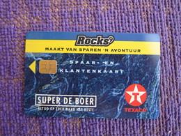 Texaco Rocks' Chip Card - Phonecards