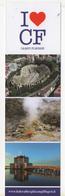 Seg079 Segnalibro Signet Bookmark Marque Pages Turismo Tourism Campi Flegrei Napoli Geotermia Geothermic Teatro Romano - Segnalibri