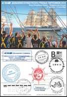 "RUSSIA 2018 2018/246 SCF Far Eastern Regatta Of Training Sailboats. Vladivostok. Sail Training Ship ""Nadezhda"" - Boten"