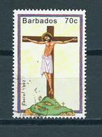 1992 Barbados 70 Cent Easter,pasen Used/gebruikt/oblitere - Barbades (1966-...)