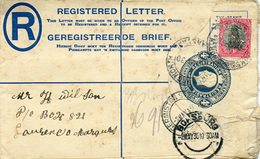(e1017) R- Brief Süd Afrika  1930 - Stamps