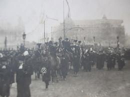 LUXEMBOURG - VILLE, Le Cortège Funéraire De S.A.R. Le Grand-Duc Guillaume - 1912, Boulevard Du Viaduc, Carte-photo SCHUM - Luxembourg - Ville