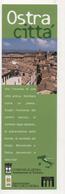 Seg078 Segnalibro Signet Bookmark Marque Pages Turismo Tourism Ostra Città Ancona Marche - Segnalibri