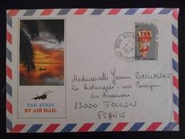 Nouvelle-caledonie Lettre De Noumea 1985 Pour Toulon - Nouvelle-Calédonie