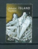 1998 Iceland Minerals Used/gebruikt/oblitere - 1944-... Republiek