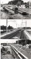 AMBARES - 3 Photos - Train - Voie Ferrée  - Photos Pierre Gontier (111066) - Frankreich
